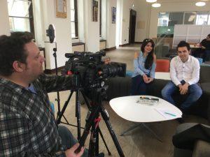 Filming the MOOC